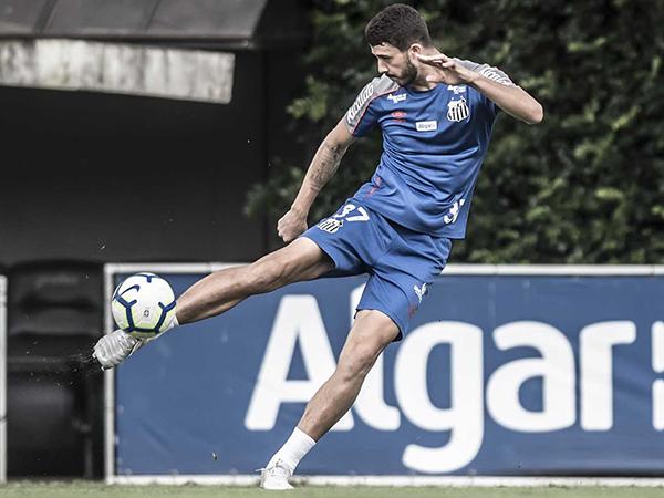 Gustavo Henrique confirmou que não seguirá na Vila Belmiro no próximo ano. Foto: Ivan Storti/Santos FC