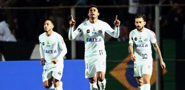 Kayke marcou nove gols com a camisa do Santos em 2017