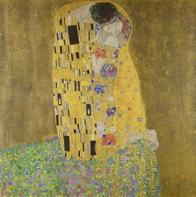 Pintura de 1908 remete a muitas teorias. Imagem: Reprodução