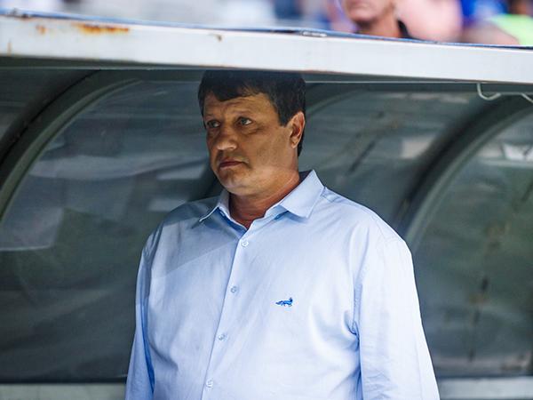 Em três jogos com a equipe em 2020, Adilson não venceu nenhuma partida. Foto: Vinnicius Silva/Cruzeiro