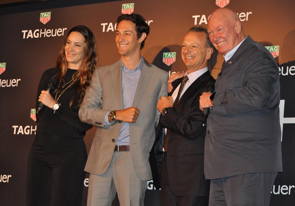 Empresa suíça lançou produtos com a grife do tricampeão mundial de F1