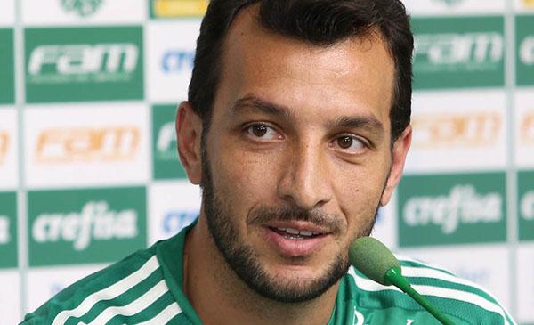 Zagueiro encerrou a carreira no Palmeiras. Foto: Cesar Greco/Ag Palmeiras