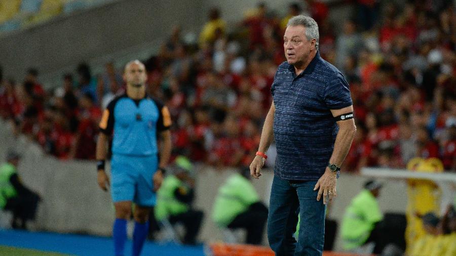 Abel Braga assume o comando do clube de São Januário. Foto:  Foto: Alexandre Vidal/Flamengo
