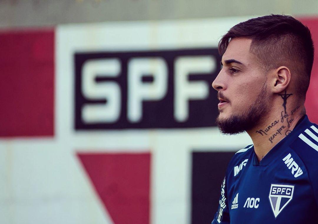 Jogador do São Paulo foi solto após audiência de custódia. Foto: Instagram/Reprodução