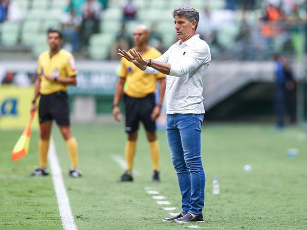 Treinador tricolor disse já estar trabalhando no planejamento de 2020. Foto: Lucas Uebel/Grêmio FBPA