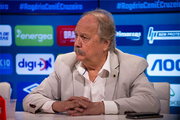 Wagner Pires de Sá está de saída do Cruzeiro. Foto: Bruno Haddad/Cruzeiro