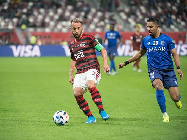 Capitão do Mengão disse que a equipe treinou bem para a final. Foto: Alexandre Vidal / Flamengo