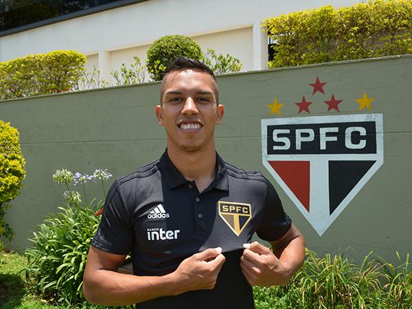 Jovem jogador que pertencia ao Ituano disputou 30 partidas em 2019. Foto: São Paulo/Divulgação