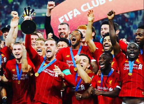 A equipe rubro-negra perdeu por 1 a 0, na final do Mundial de Clubes, em Doha. (Foto: Liverpool)
