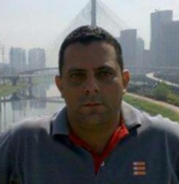 Jorge Reis se apresentou aos organizadores como representante da Conmebol. Foto: Reprodução
