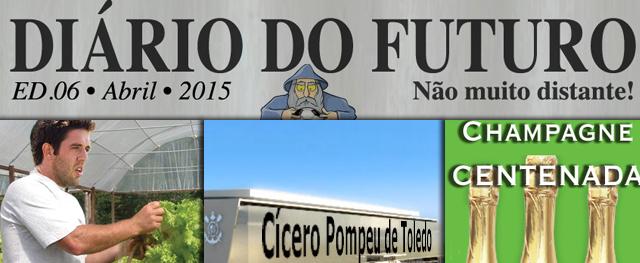 Em 2015, Walter na Espanha, campanha somos todos bananas e champagne Centernada