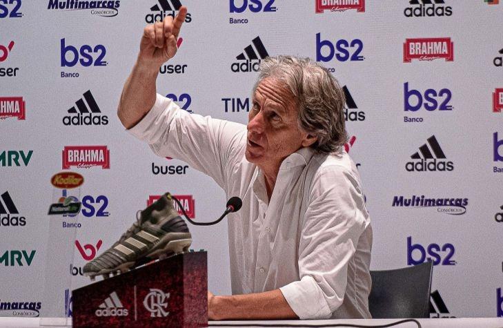O português Jorge Jesus se destacou à frente do Flamengo. Foto: Alexandre Vidal/Flamengo