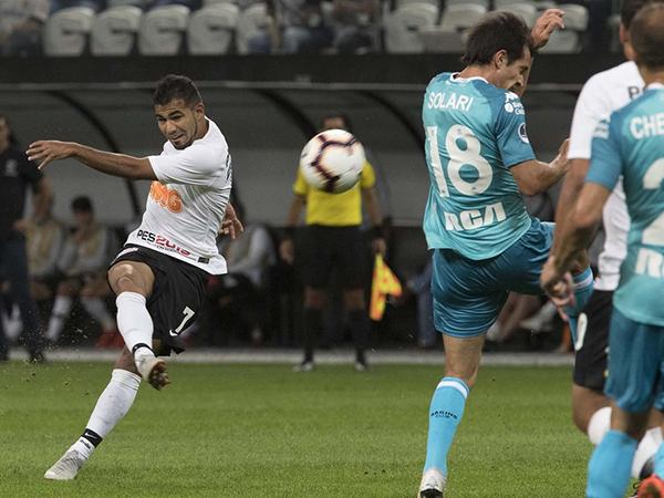 Jogador equatoriano está perto de acertar com a LDU. Foto: Daniel Augusto Jr/Ag.Corinthians