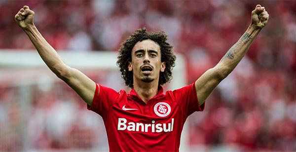 Jogador atuou pelo Vasco em 2019. Foto:Divulgação/Internacional