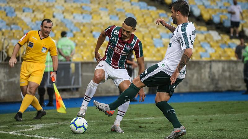 Equipe carioca seguirá com os serviços de Gilberto. Lucas Merçon/Fluminense Futebol Clube