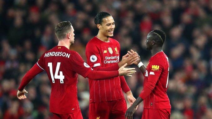 Equipe segue com campanha espetacular na temporada. Foto: Twitter oficial do Liverpool