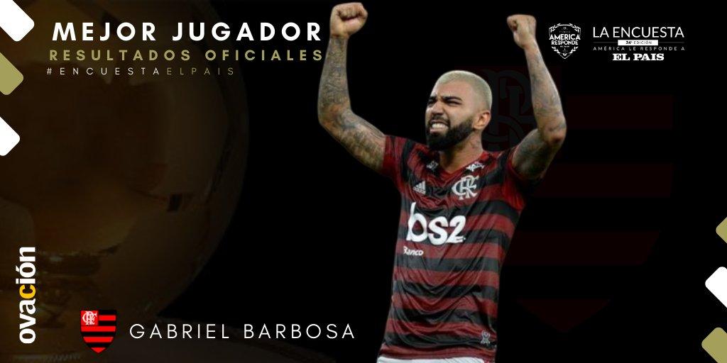Atacante do Flamengo venceu o prêmio do jornal El País, Foto: Divulgação