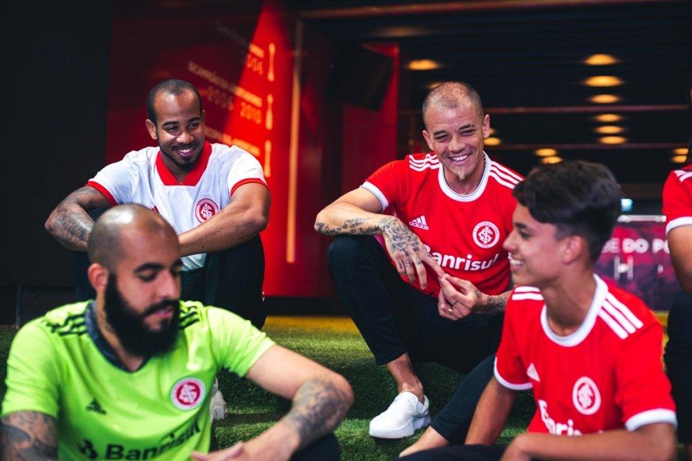 Adidas volta a vestir o time colorado após 15 anos. Foto: Divulgação/Internacional