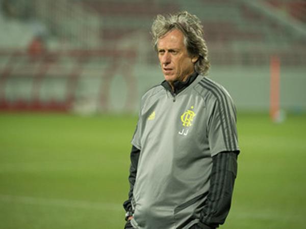 Treinador do Mengão se mostrou satisfeito no clube. Foto: Alexandre Vidal / Flamengo