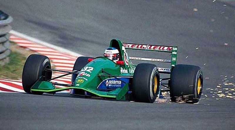 Alemão fez seu primeiro GP na categoria a bordo da Jordan em 1991. Foto: Divulgação