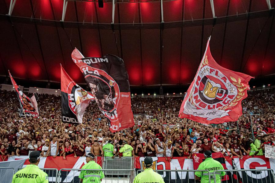 Assistir um jogo tem sempre uma dose de emoção. Foto: Flamengo/Divulgação