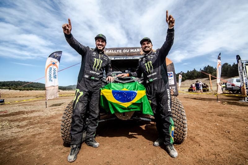 Reinaldo Varela e Gustavo Gugelmin competem com UTV Can-Am Maverick X3.  Foto: MCH Photografy/Divulgação/Mundo Press
