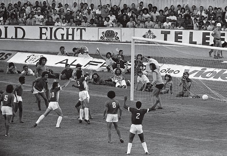 """Figueroa marcou o único gol colorado diante do Cruzeiro, o chamado """"Gol Iluminado"""""""