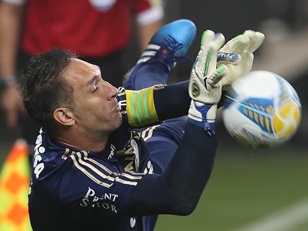 Ex-goleiro do Palmeiras acertou contrato de um ano com o Vozão. Foto: Cesar Grecco/Palmeiras