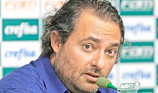 Dirigente afirmou que sua saída está relacionada à saída do vice-presidente de futebol da raposa. Foto: Palmeiras/Divulgação
