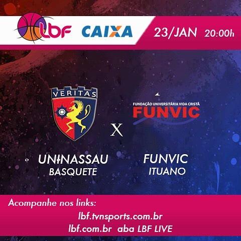 Equipe de basquete feminino joga em casa nesta terça-feira (23) e busca vitória contra Funvic