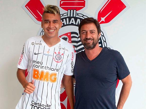 Jogador chega com vínculo até 2023. Foto: Daniel Augusto Jr/Ag. Corinthians/Divulgação