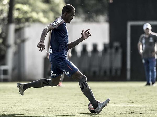 Luiz Felipe tinha contrato com o Peixe até o final de 2022. Foto: Ivan Storti/Santos FC