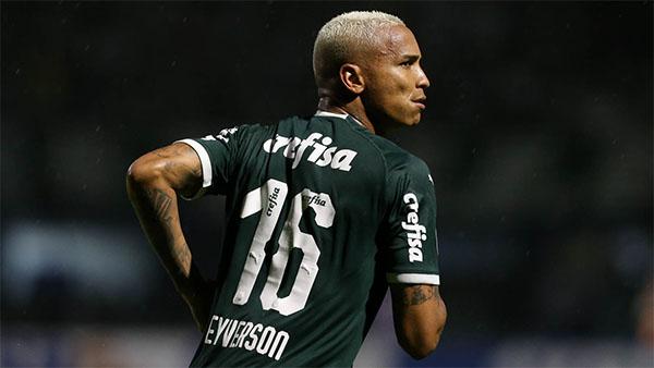 Atacante não foi relacionado para a sequência da preparação. Foto: Cesar Grecco/ Ag Palmeiras