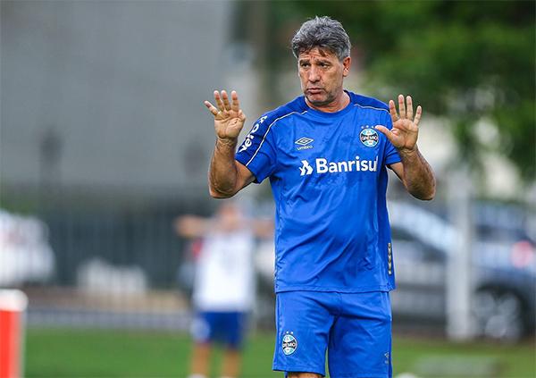 Treinador do Grêmio já havia se submetido a procedimento um ano atrás. Foto: Lucas Uebel/Grêmio FBPA