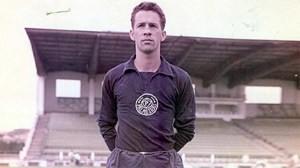 Valdir foi referência como goleiro e iniciou a função de preparador de goleiros no Brasil. Foto: Reprodução/Palmeiras