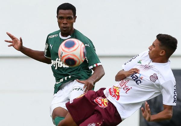 O Sub-20 do Verdão venceu o Sertãozinho, em Araraquara. (Foto: Agência Palmeiras)