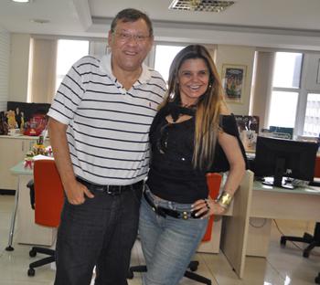 A sobrinha do saudoso Oswaldo Sargentelli preserva a memória do tio com shows por todo o Brasil