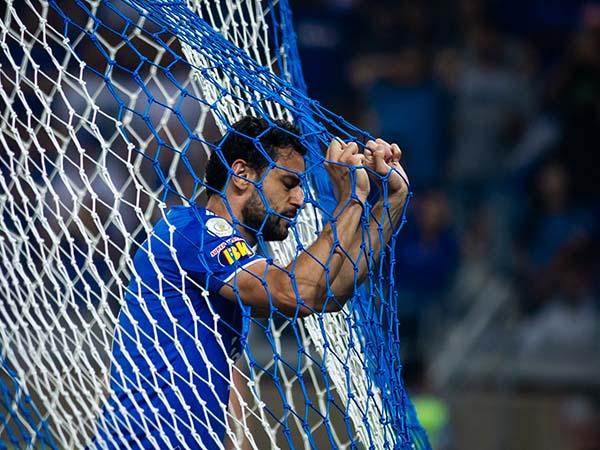 Camisa 9 da Raposa é um dos maiores salários do elenco e não deve permanecer no clube. Foto: Bruno Haddad/Cruzeiro