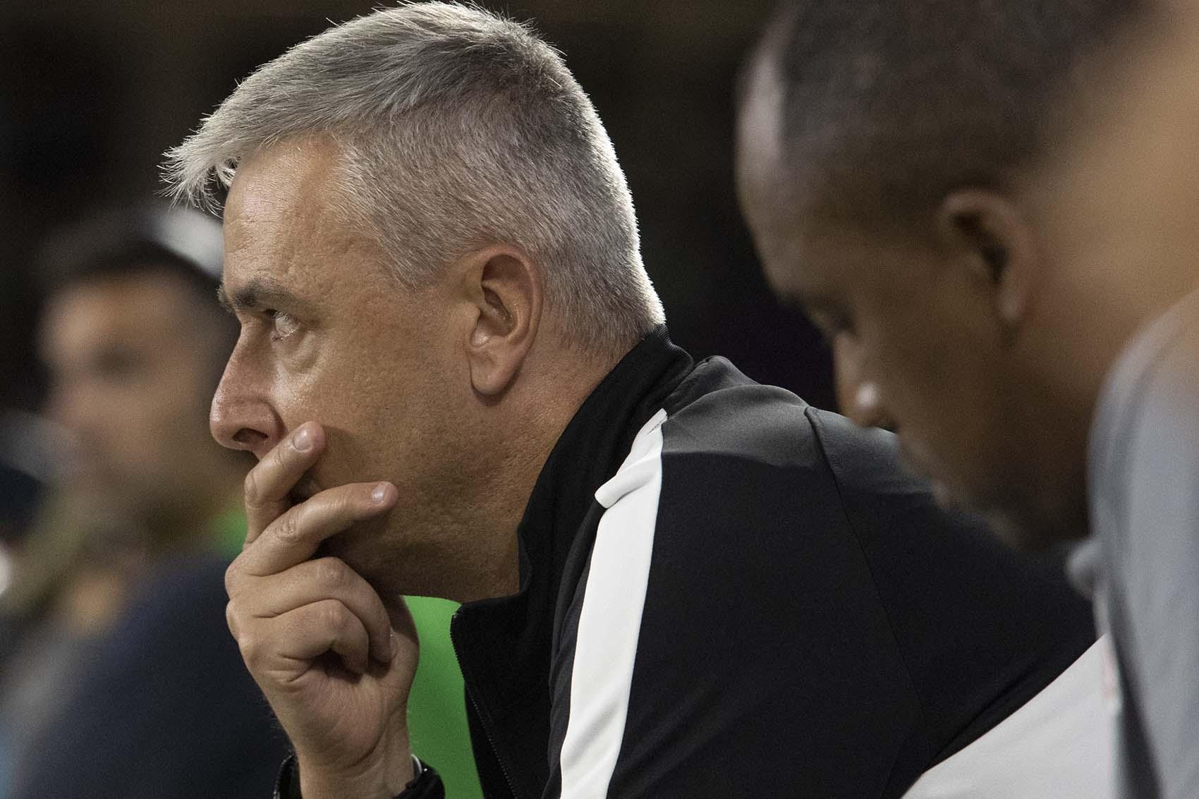 Treinador corintiano destacou estar satisfeito com o desempenho da equipe. Foto: Daniel Augusto Jr./Ag.Corinthians