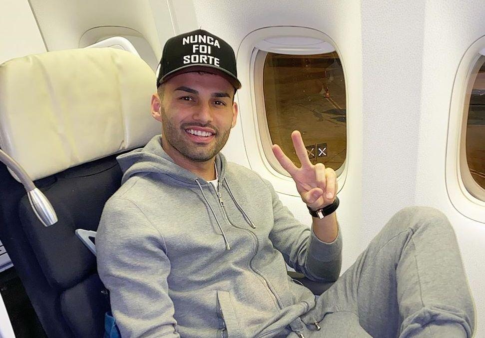 Volante do Lille se mostrou feliz com a possibilidade de assinar com o Mengão. Foto: Instagram/Reprodução