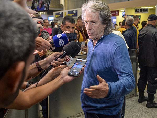 Treinador do Mengão ainda falou que conversará com Gabigol. Foto: Marcelo Cortes / CRF