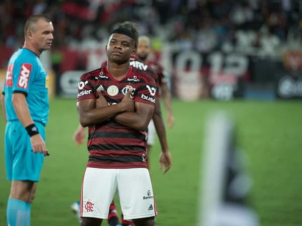 Jovem Lincoln é mais uma brasileiro na mira do time espanhol. Foto: Alexandre Vidal/Flamengo