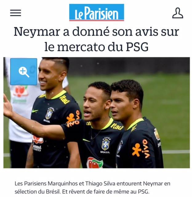 Neymar Monta Time De `parças` No PSG E Impõe A Permanência