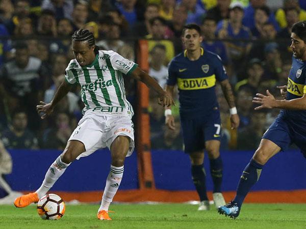 Grêmio teria feito proposta para contar com o futebol do atacante do Al-Jazira. Foto: Cesar Greco/Ag. Palmeiras