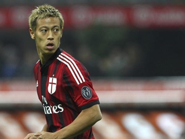Keisuke Honda teria sido oferecido ao Fogão. Foto: Facebook/Reprodução