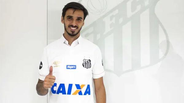 Jogador fez postagem nas redes sociais. Foto: Ivan Storti/Santos FC
