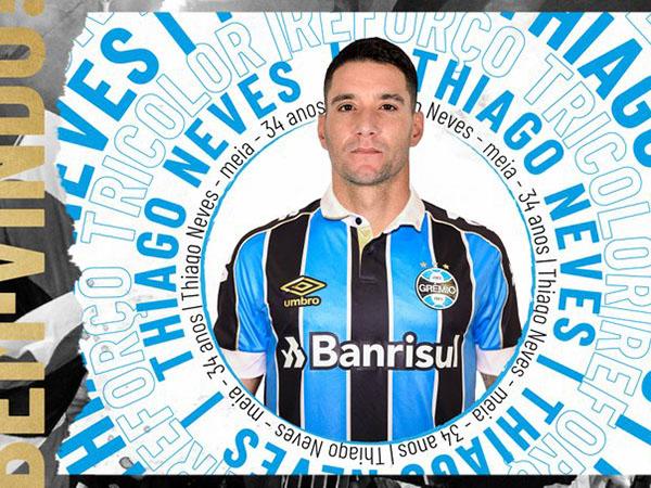 Jogador assinou contrato de um ano com o Tricolor Gaúcho. Foto: Divulgação