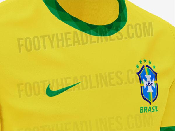 Novo uniforme seria utilizado pela seleção na Copa América de 2020. Foto: Reprodução