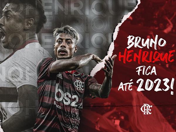 Atacante assinou vínculo até 2023 com o Mengão. Foto: Alexandre Vidal / Flamengo