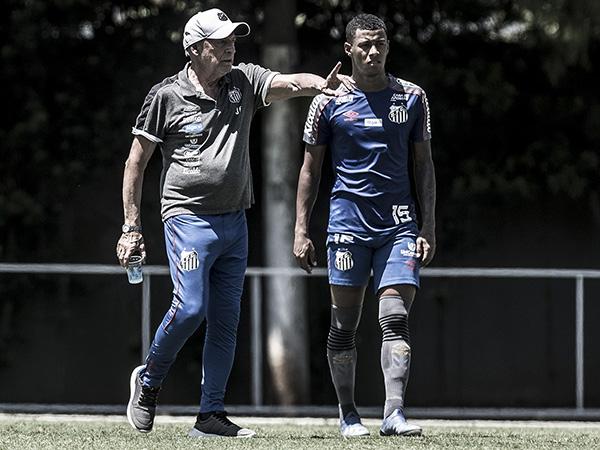 Time de Jesualdo Ferreira pode ter seis desfalques para a partida. Foto: Ivan Storti/Santos FC